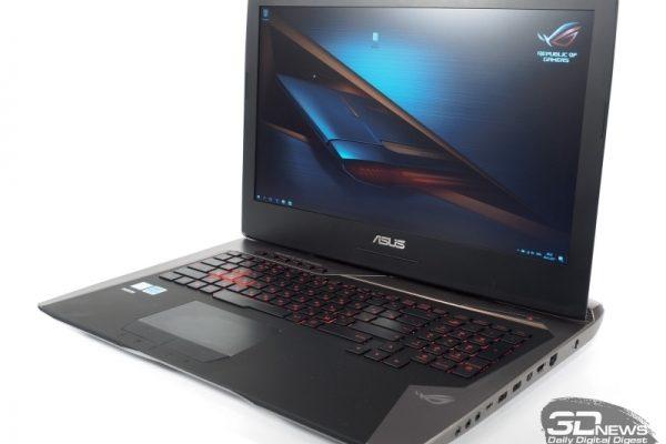 Обзор игрового ноутбука ASUS ROG G752VSK: переход на новый уровень